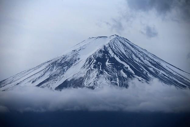 Photos: 雲上の黒富士