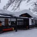 雪国のうどん店