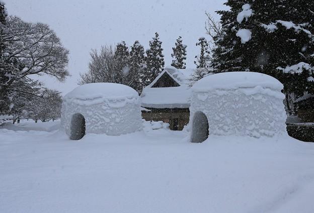 写真: 雪 国