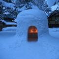写真: 雪国情景