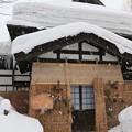 写真: 雪国の古民家