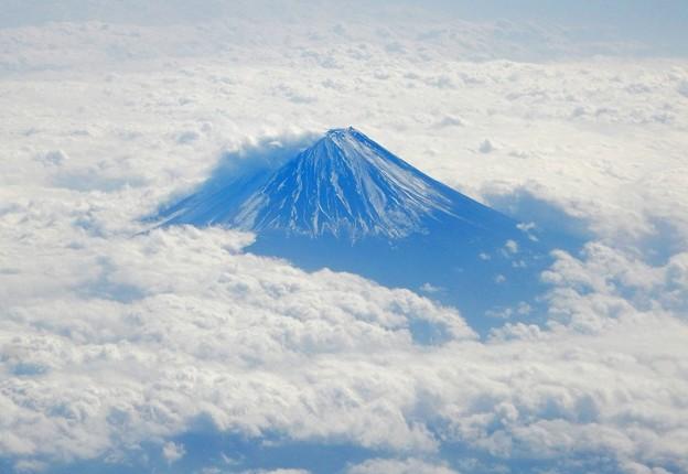 Photos: 雲上に聳える富士