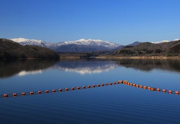 釜房湖の春