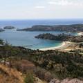 大島の二つの砂浜