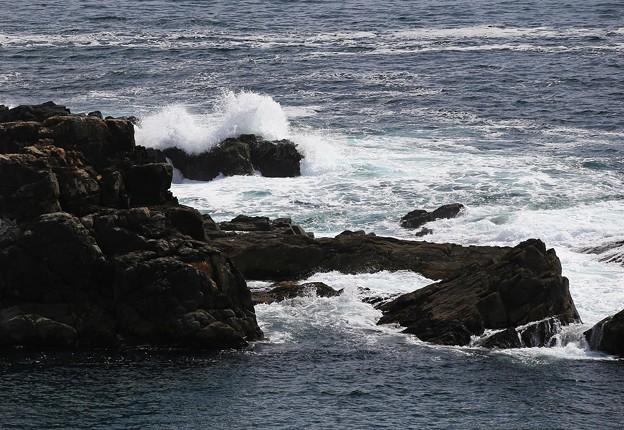 Photos: 龍舞崎に打寄せる波