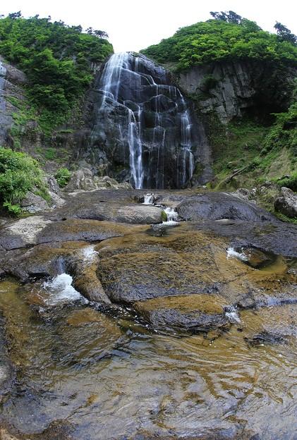 安の滝(上段)