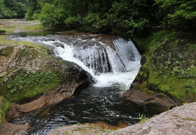 小又峡の流れ