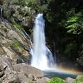 Photos: 滝壺の虹