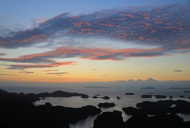 Photos: 日暮れの九十九島