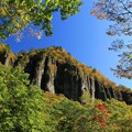 絶壁の磐司岩