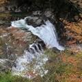 Photos: 深い谷間の釜淵
