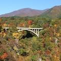 Photos: 鳴子峡に架かる橋
