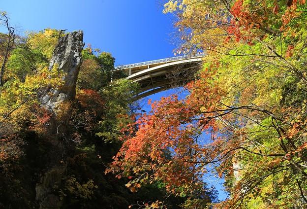 Photos: 見上げれば鳴子橋