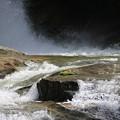 観音滝の滝壺