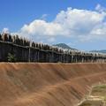 Photos: 村を守る柵