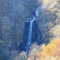 晩秋の三階の滝