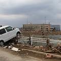 震災遺構の向洋高校