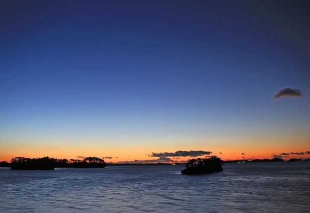 松島の黎明
