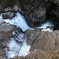 カッパ淵峡谷の流れ