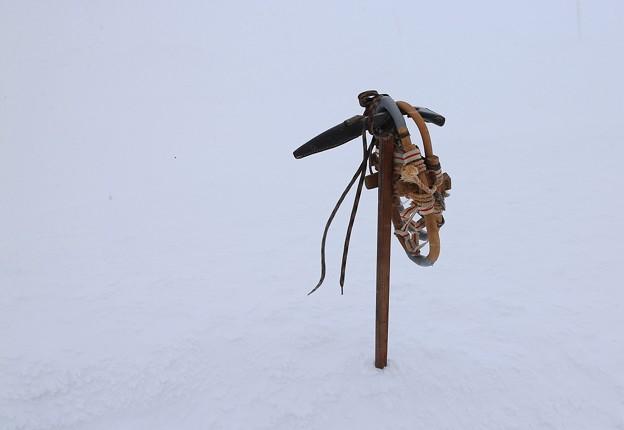 Photos: 樹氷撮影の相棒