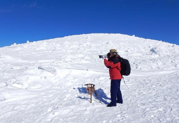 Photos: 樹氷撮影に挑む