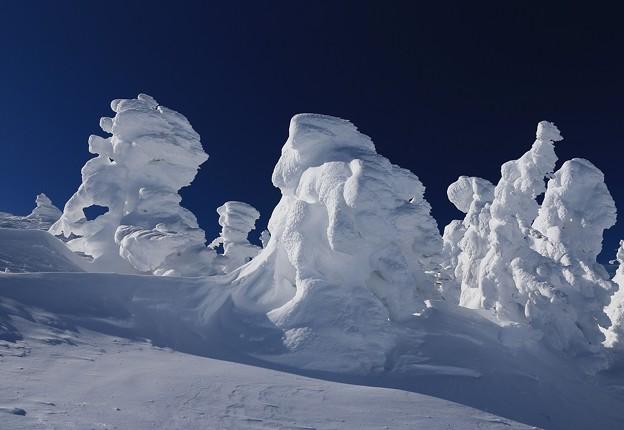 樹氷に魅せられて