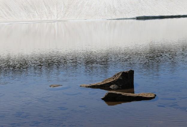Photos: 雪解け水の冷たさ