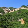 蔵王火山群の山並み