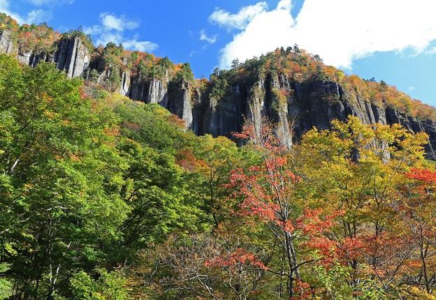 彩る磐司岩