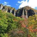 Photos: 彩る磐司岩