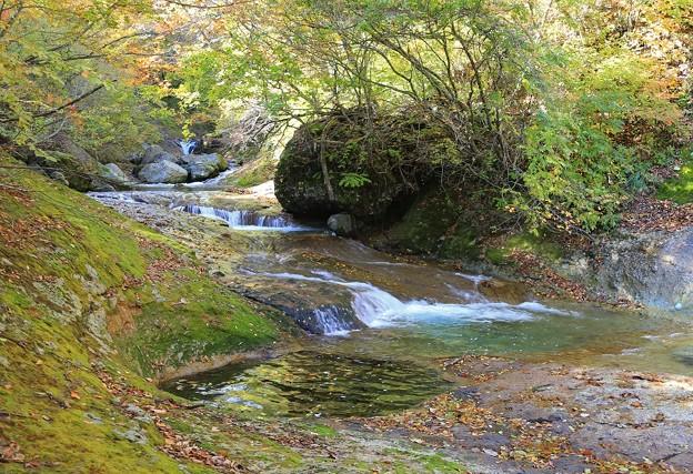 秘境の渓流