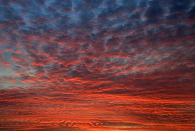 Photos: 夜明けの朝焼け