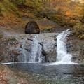 晩秋の峡谷