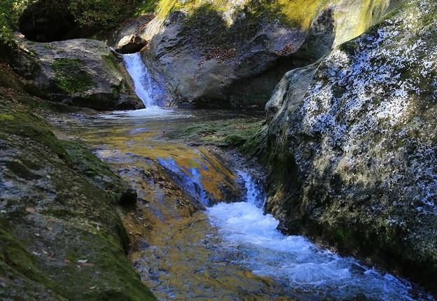 Photos: 冷水流れる峡谷