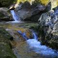 冷水流れる峡谷