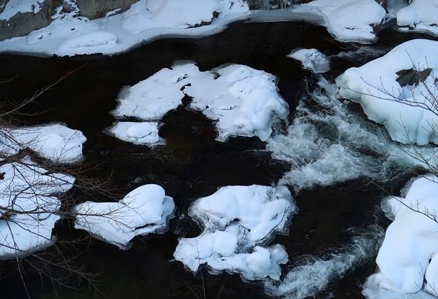 Photos: 厳寒の流れ