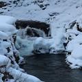 厳寒の二口渓谷