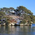 お堂のある島