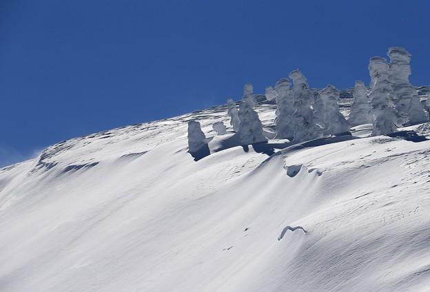 蔵王の風雪の造形