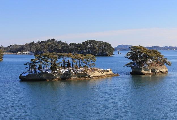 松島湾の双子島