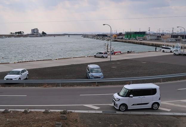 Photos: 静かな閖上港