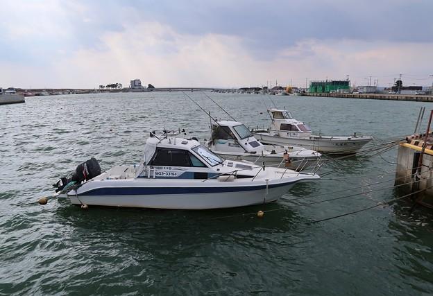 閖上港の景観