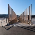 Photos: 祈りの丘へ渡る中橋