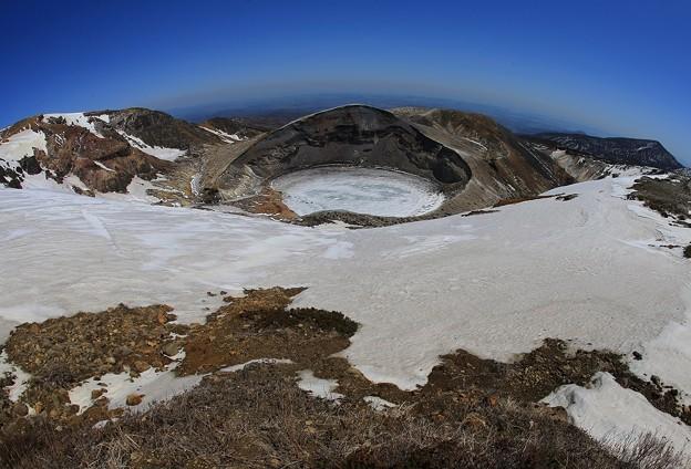 熊野岳からの絶景