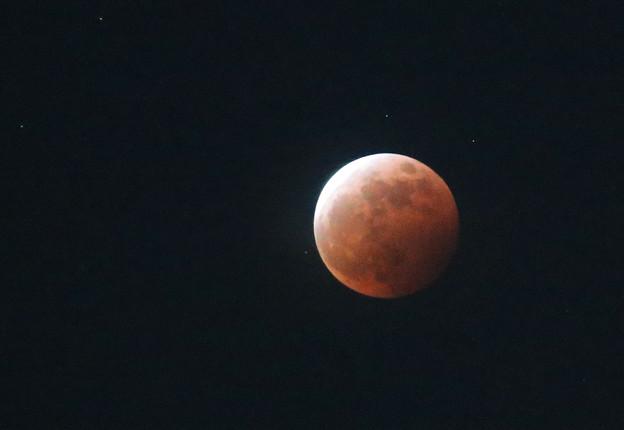 Photos: 皆既月食