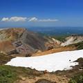 Photos: 残雪の濁り沢