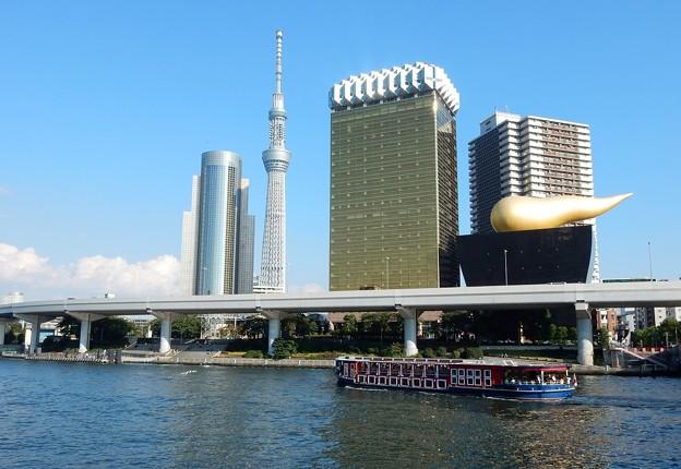 Photos: 隅田川と水上バス