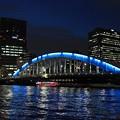 Photos: 夜の永代橋