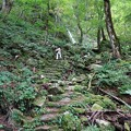 小滝への登り