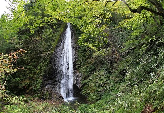 初秋の小滝